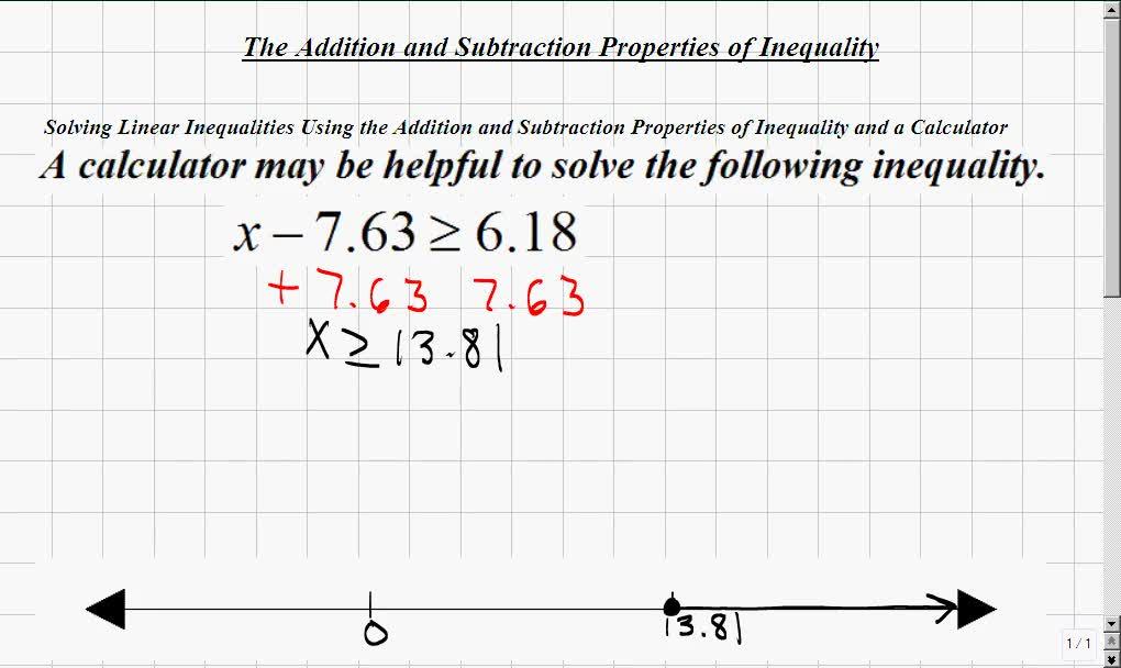 Classroom | Elementary Algebra: Solving Compound Linear
