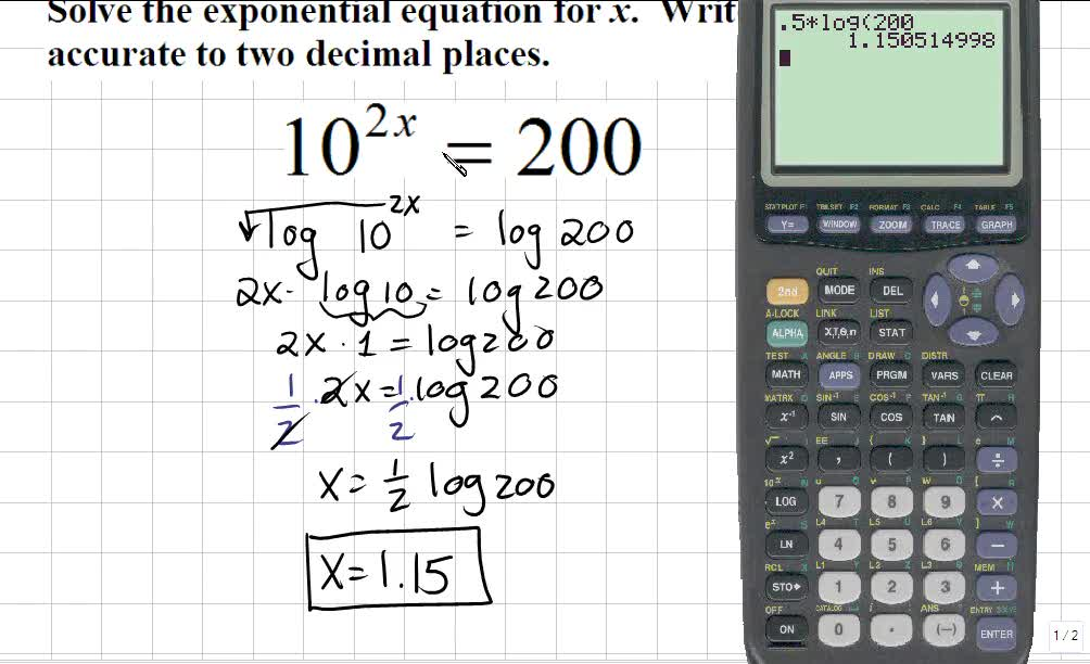 Classroom | Trigonometry: Solving Exponential Equations
